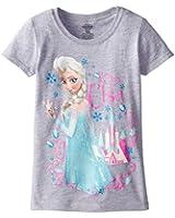 Frozen Little Girls' Elsa Puff Sleeve Tee