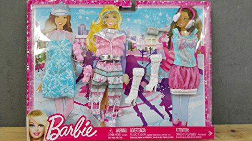 Mattel-Y7096-Barbie-Trend-Garderoben-Sortiment-Winteroutfit
