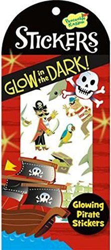 Peaceable Kingdom Glow in the Dark Pirate Sticker Pack