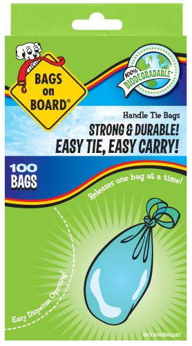 Bags on Board Handle Tie Bags, 100 Count