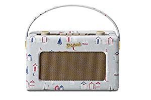 Roberts Radio RD60 Revival Clarke and Clarke Beach Huts DAB/DAB+/FM RDS Digital Radio