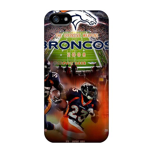 New Denver Broncos Tpu Skin Case Compatible With Iphone 5/5S