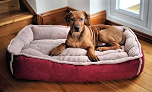 Wolfybeds Luxury Fleece Cradle Dog Bed Size Large from Wolfybeds