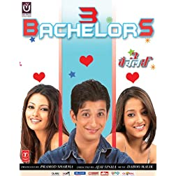3 Bachelors (2012) (Hindi Movie / Bollywood Film / Indian Cinema DVD)