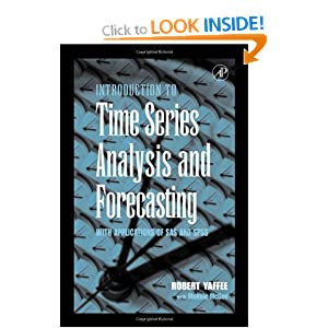 An Introduction to Time Series Analysis and Forecasting, Second Edition Robert A. Yaffee