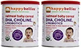 Happy Bellies Baby Cereal Oatmeal 7 Ounce Pack of 2