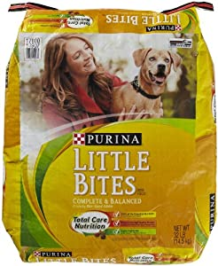 PURINA 178149 Little Bites Indoor for Dry Dogs, 32-Pound