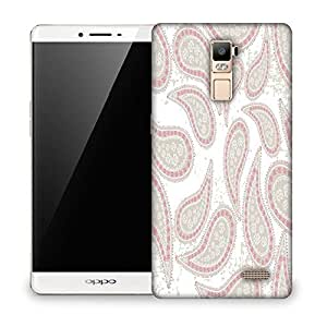 Snoogg Abstract Light Green Pattern Designer Protective Phone Back Case Cover For OPPO F1