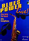 echange, troc  - Blues Power +CD - Sax Alto