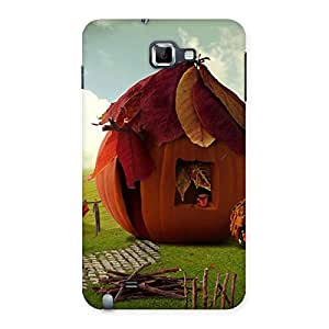 Special Cutest Hut Print Back Case Cover for Galaxy Note