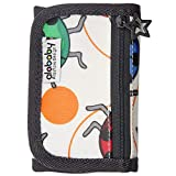 Alababy Boys Canvas Velcro Trifold Ladybird Wallet