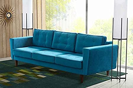 Luciene 3 seat sofa Genova Peacock