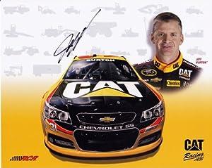 2013 Jeff Burton #31 CATERPILLAR Racing Chevy (RCR) 8X10 NASCAR Hero Card... by Trackside Autographs
