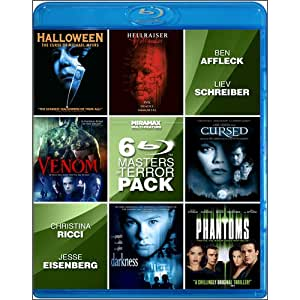 6-Film Masters of Terror V.2 [Blu-ray]