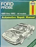 1989-1992 Haynes Repair Manual - Ford Probe #1670