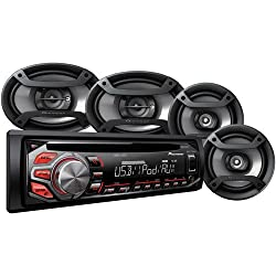 See Pioneer Complete Car Audio Package, DXT-X2669UI, 200W Stereo with Two 6.5
