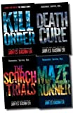 Maze Runner Trilogy Collection James Dashner 4 Books Set (The Scorch Trials, The Maze Runner, Death