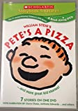 img - for William Steig's Pete's a Pizza...And More Great Kid Stories (7 Read-Along Stories on One DVD) (Scholastic Storybook Treasures, Pete's a Pizza,Max's Words,Moon Man,The Great White Man-Eating Shark,The Island of Skog,What's Under My Bed,The Five Chinese Brothers) book / textbook / text book