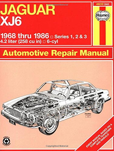 Jaguar Xj6 1968 Thru 1986: Series 1, 2 & 3 (Haynes Manuals) front-432302