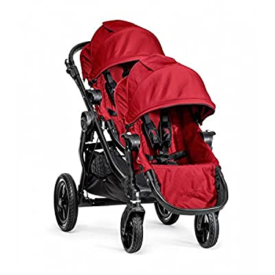 Baby Jogger City Select Single Black Frame Stroller with Second Seat - Red by UnAssigned that we recomend individually.