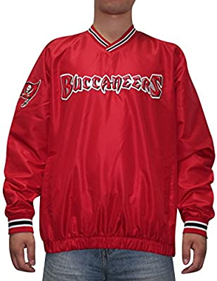 NFL TAMPA BAY BUCCANEERS Mens Fall / Winter Wind Breaker Jacket with Lining