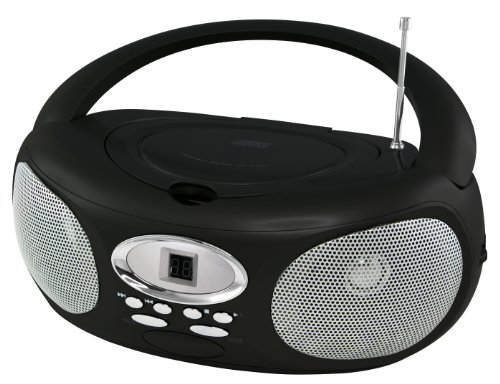 Riptunes Cdb220 Portable Cd Boombox (Black)