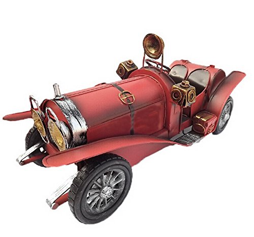 American Retro Home Furnishing Creative Personality Model Car Crafts-1215Red