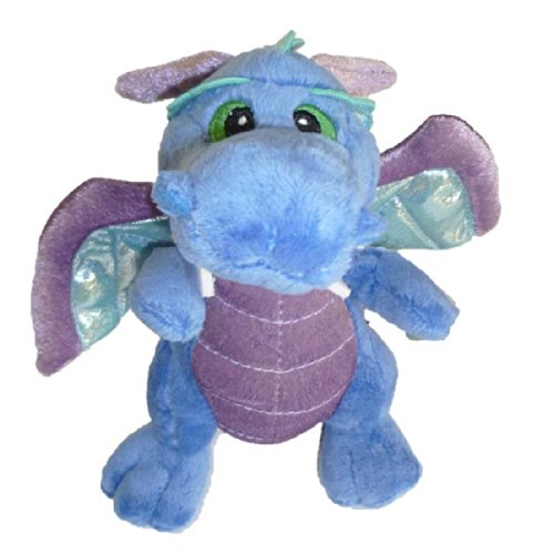 "Aurora ""Legendary Friends"" 7"" Plush Dragon - Blue - 1"