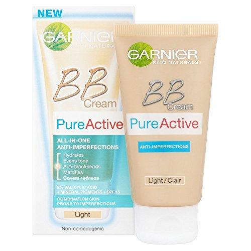 L'Oreal Garnier Pure Active, BB Cream, tinta leggera, 50 ml