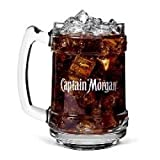 Captain Morgan Rum Glass Mug (Color: Clear)