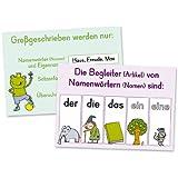 """Merk-Poster - Klasse 1/2 - Deutsch-Wissen auf einen Blickvon """"Anja Boretzki"""""""