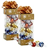 Lindor Lindt Assorted Chocolate Pinnacle Gift Box, 2 Count