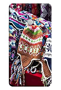 Omnam Winter Clothes Pattern Printed Designer Back Cover Case For Xiaomi Mi Max