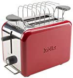 Kenwood kMIx TTM021 2-Slot Toaster, Raspberry Red