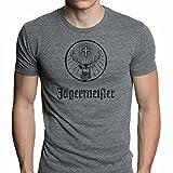 Jagermeister Men's Shirt Large Grey