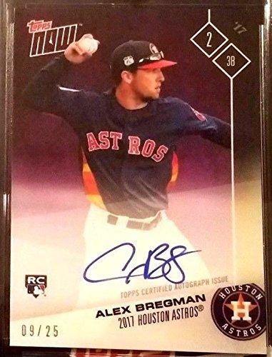 Alex Bregman Autographed Baseball Card