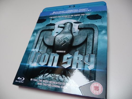 Iron Sky Exclusive Edition HMV - Blu-Ray + Digital Copy + 32 Page Producuction Booklet (Iron Sky Blu Ray compare prices)