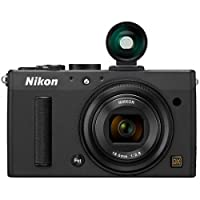 Nikon Coolpix A 16.1MP Point-and-Shoot Digital Camera (Black) with 4GB Card, Camera Pouch, HDMI Cable