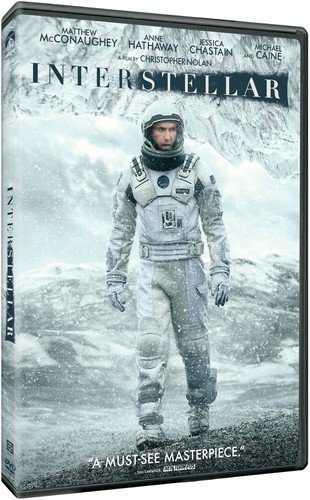 interstellar dvd 2014