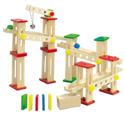 Imagen principal de HEROS 100038502 - Juego de construcción de madera con grúa [importado de Alemania]