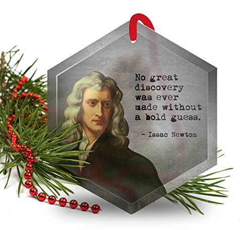 isaac-newton-famous-scientists-glass-christmas-ornamant