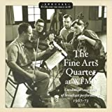 The Fine Arts Quartet at WFMT Radio *8CDs Special Price*by with Leonard Sorkin,...