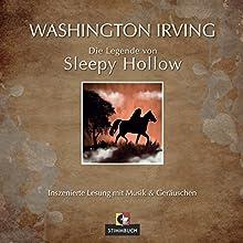 Die Legende von Sleepy Hollow Hörbuch von Washington Irving Gesprochen von: Hans-Gerd Kilbinger
