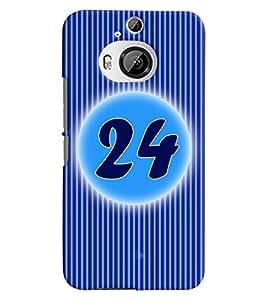 Fuson 3D Printed Numerology Designer back case cover for HTC One M9 Plus - D4244
