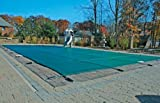16 x 32 Rectangle Safety Pool Cover with Center End Step (4x7)