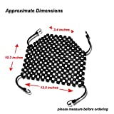 Zento Deals Double Strung Wooden Beaded Ultra Comfort Massaging Seat Cover - Black Superior Quality Massaging Car Seat Cover for Ultimate Relaxation!