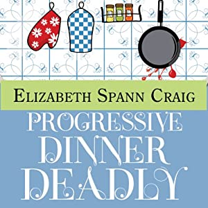 Progressive Dinner Deadly Audiobook