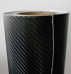 CARBON FOLIE 3D STRUKTUR 50X152cm CARWRAPPING