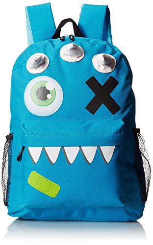 Mystic Apparel Blue Monster Backpack - 1