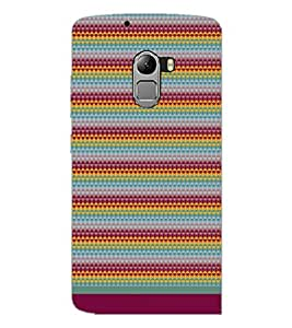 PrintDhaba Pattern D-1750 Back Case Cover for LENOVO K4 NOTE A7010a48 (Multi-Coloured)